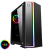 View more info on Game Max Starlight RGB Rainbow Strip and Rear Fan Sync Hub Glass Side Panel...