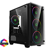 View more info on GameMax Stratos Mini ARGB Gaming Case 4x ARGB Fans 1x ARGB Hub...