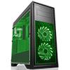 View more info on Game Max Titan Black 2 x USB3 2 x USB2 2 x 12cm Green 15 LED Fans 1 x 12cm...