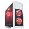 Game Max Titan White PC Gaming Case with 2 x RGB Front 1 x Rear Fans & Remote - Alternative image