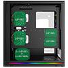GameMax Trooper 3x ARGB Fans Hub TG Side Window - Alternative image