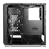 Game Max Vanguard VR2 Brushed Alum Effect Mid-Tower RGB Gaming Case With Window  - Alternative image