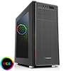 View more info on Game Max Vanguard VR2 Brushed Alum Effect Mid-Tower RGB Gaming Case With Window ...