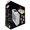 Game Max Vegas White with 2 x 12cm Front Fans with 7 Colour LED Facia - Alternative image