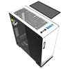 Game Max Vega White Full Tower Case With RGB Strip & PWM Controller Tempered Glass Sides - Alternative image