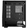 GameMax Venus 1x ARGB Strip 1x ARGB Fan 3pin Aura Sync Hub Remote TG Side Window - Alternative image