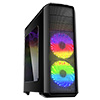 View more info on Game Max Volcano Gaming Black PC Case 2 x RGB Front Fans & Remote Control...