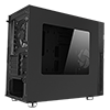 Game Max Whisper Silent Sound Proofed MATX Case With 1 White Bladed Fan Included - Alternative image