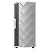 GameMax Diamond White ARGB Gaming Case 1 x ARGB Fan 1 x ARGB LED Strip - Alternative image