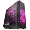 Sama Ark Black Case with RGB Front Top & Rear Fans with Integrated RGB - Alternative image