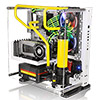 Thermaltake Core P3 Snow Mid Tower ATX Case with Side Acrylic Side - Alternative image