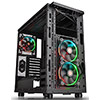 Thermaltake Core X31 Black Mid Tower Case With 3 x 120mm RGB Riing Fans & Window - Alternative image