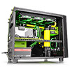Thermaltake Core X5 Green Riing Edition ATX Stackable Cube Case With Window - Alternative image