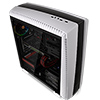 Thermaltake Versa N27 White Mid Tower Case With Full Side Window - Alternative image