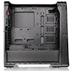Thermaltake View 28 RGB Riing Fan Edition Black Case With Curved Side Window  - Alternative image