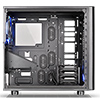 Thermaltake View 31 Tempered Glass Edition Mid Tower 2x140mm Blue Riing Fans - Alternative image