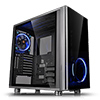 View more info on Thermaltake View 31 Tempered Glass Edition Mid Tower 2x140mm Blue Riing Fans...