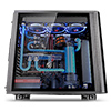 Thermaltake View 31 Tempered Glass RGB Edition Mid Tower 2x140mm RGB Riing Fans - Alternative image