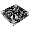 View more info on Aerocool Dead Silence 14cm Black Fan Dual Material/Colour FDB Fan 10.8dBA Retail...