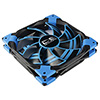 View more info on Aerocool Dead Silence 14cm Blue LED Fan Dual Material/Colour FDB Fan 10.8dBA Retail...