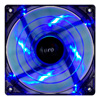 Aerocool Shark 12cm Quad Blue LED Fan 15 Blade Fluid Dynamic Bearing 12.6dBA - Alternative image