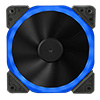 View more info on Unbranded Halo Dual Ring 22 LED 120mm Blue Fan...