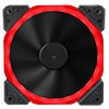 View more info on Unbranded Halo Dual Ring 22 LED 120mm Red Fan...