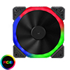 View more info on Unbranded Halo Dual Ring 18 LED 120mm RGB Fan...