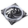 *120mm GameMax Spectrum LED Ring fan 4Pin fan PWM connector - Alternative image