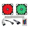View more info on Game Max RGB Kit 2x Fans 2x LED Strips Remote Control and Sata Power Connection...