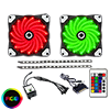 View more info on Game Max RGB Kit 2x Fans 2x LED Strips Remote Control and Sata Power Connection ...