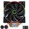 View more info on GameMax Gamma 500 Rainbow ARGB CPU Cooler Aura Sync...