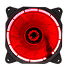 View more info on Game Max Eclipse Red Ring LED 12cm Cooling Fan With Hydraulic Bearings...