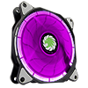 Game Max Eclipse RGB Ring Fan 16.8 Million Colours - Alternative image