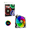 View more info on Game Max Eclipse RGB Ring Fan 16.8 Million Colours 4pin RGB Connector...