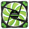 Game Max Galeforce 32 x Green LED 12cm Cooling Fan - Alternative image