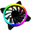 GameMax ARGB Fan Hub + Strip kit 3 x Velocity Fans 1x Viper Strip 1x Hub - Alternative image