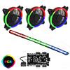 View more info on GameMax RGB Kit 3x Velocity Fans 1x Viper Strip 1x Hub 4pin Sync Brown Box...