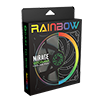 Game Max Mirage Rainbow RGB 120mm Fan 5V Addressable 3pin Header & 3pin M/B  - Alternative image