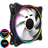 View more info on GameMax Mirage White Fins Rainbow RGB 5V Addressable 3pin Header & 3pin M/B...