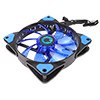 Game Max Mistral 32 x Blue LED 12cm Cooling Fan - Alternative image