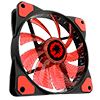 Game Max Mistral 32 x Red LED 12cm Cooling Fan - Alternative image