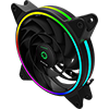 Game Max Razor 12cm Rainbow ARGB Fan RTB 3pin M&F Aura Header 3pin/4pin Power - Alternative image