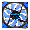 Game Max Storm Force 15 x Blue LED 12cm Cooling Fan With Hydraulic Bearings - Alternative image