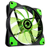 Game Max Storm Force 15 x Green LED 12cm Cooling Fan With Hydraulic Bearings  - Alternative image