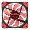 Game Max Storm Force 15 x Red LED 12cm Cooling Fan With Hydraulic Bearings - Alternative image