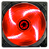 View more info on Game Max Sirocco 4 x Red LED 12cm Cooling Fan...