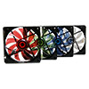 Game Max Sirocco 4 x Blue LED 12cm Cooling Fan  - Alternative image