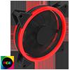 View more info on GameMax Velocity 12cm RGB Fan Bulk 4pin M&F Aura Header 3pin / 4pin Power...