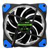 Game Max Vortex Blue Ring & 32 LED 12cm Cooling Fan With Hydraulic Bearings - Alternative image